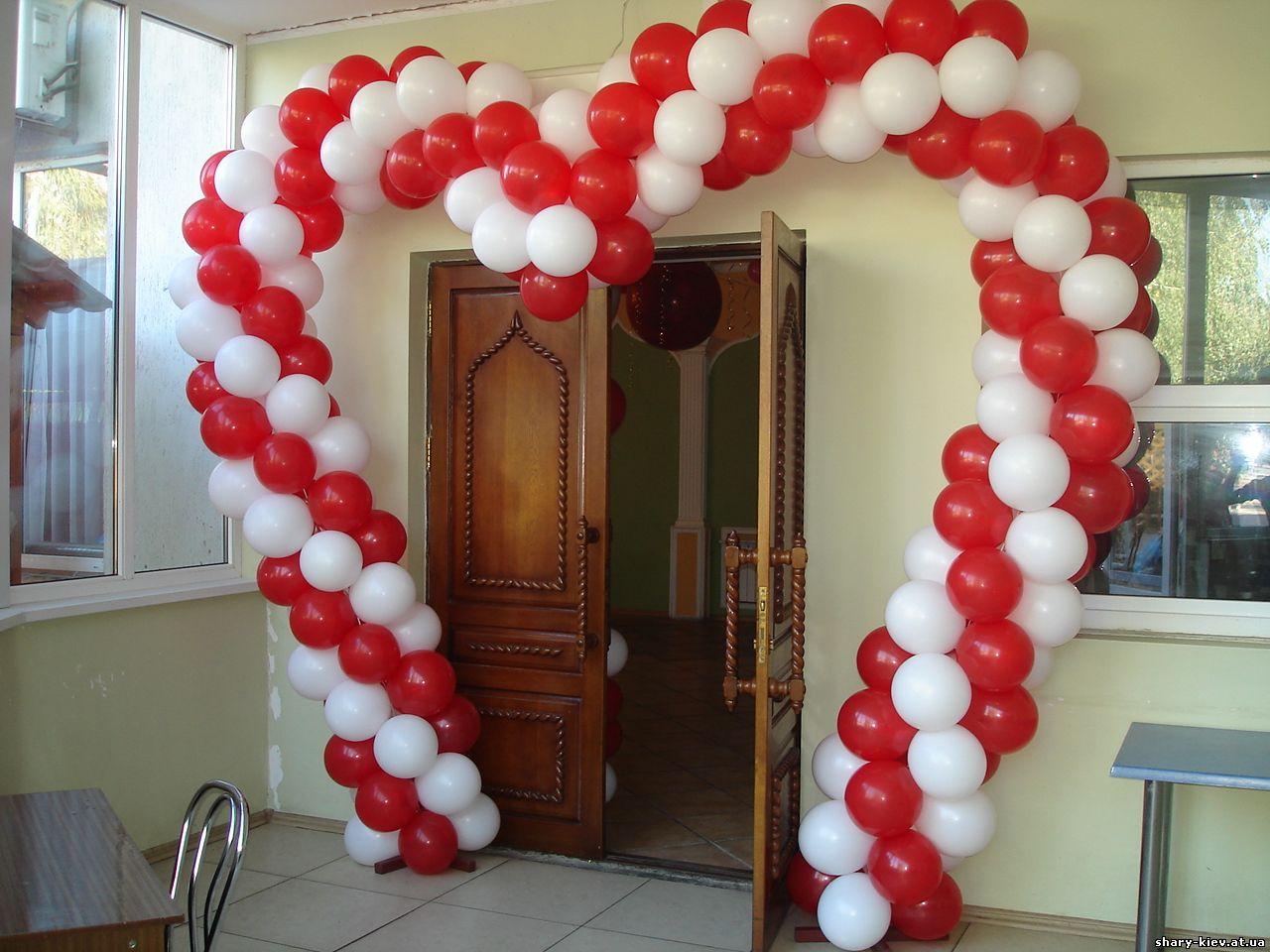 Как сделать арки с шаров